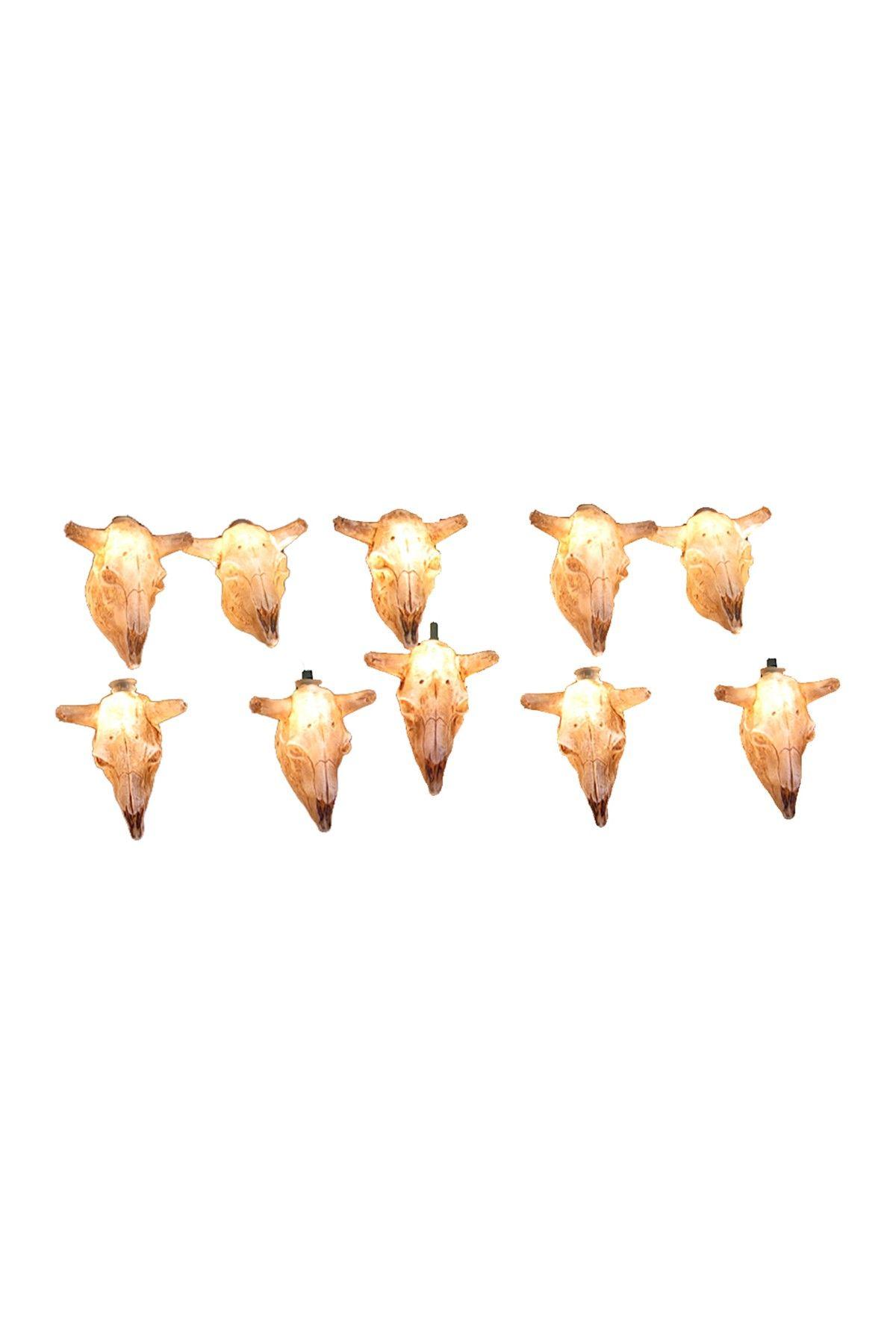 Cow Skull Light Set