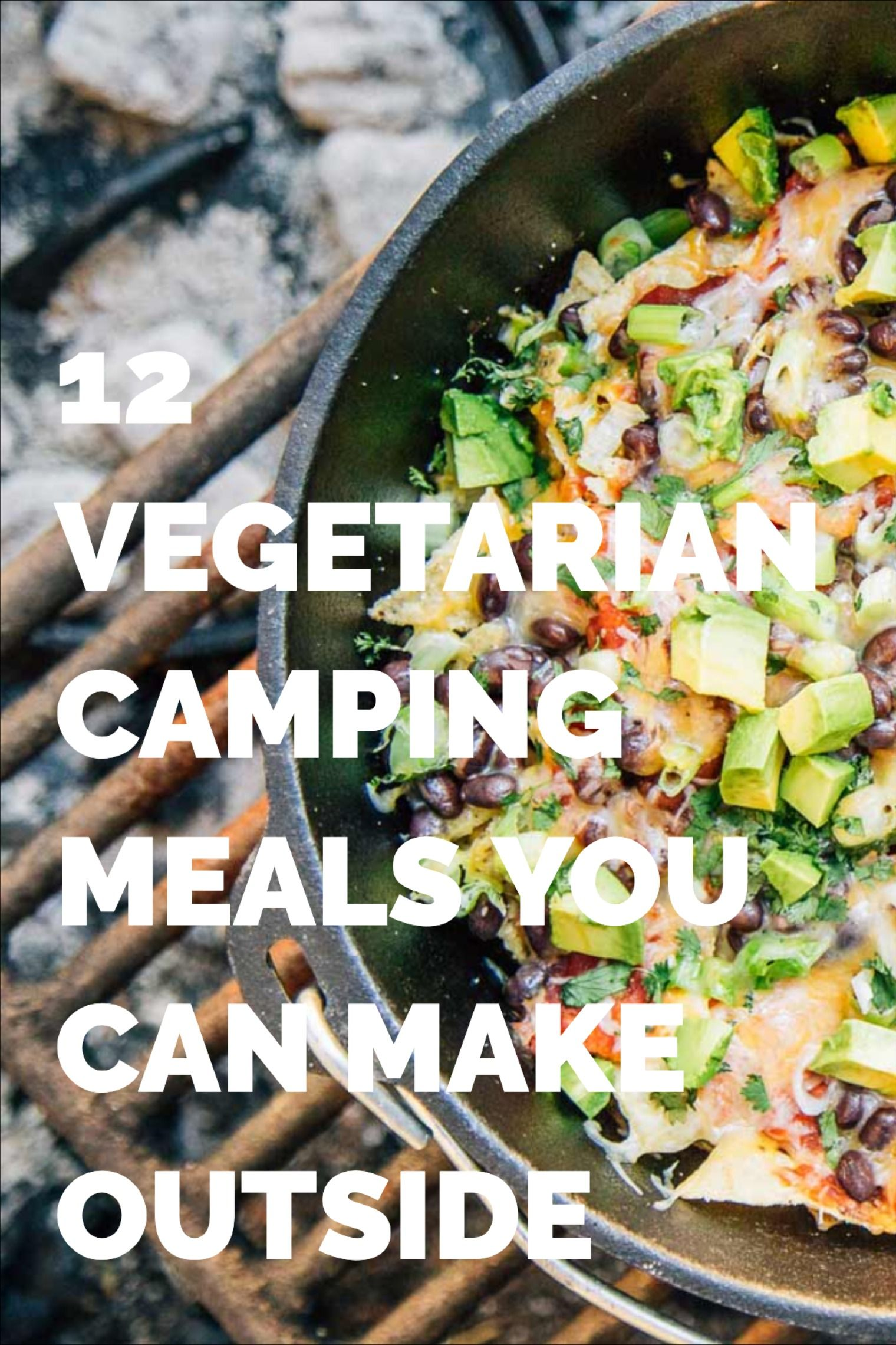 12 vegetarian camping meals you can make outside in 2020