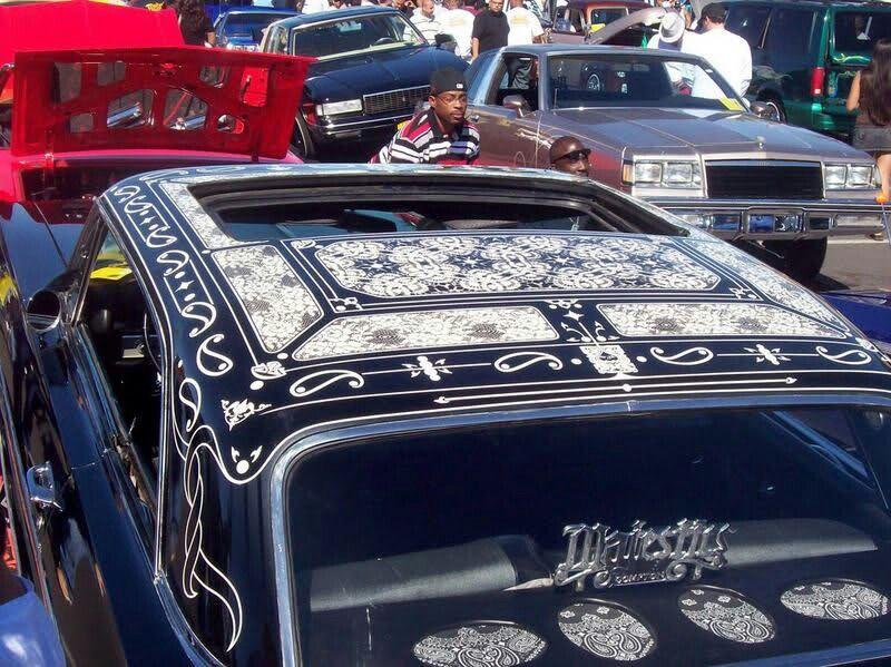 Lace Bandana Lowrider Cars Paint Job My Ride