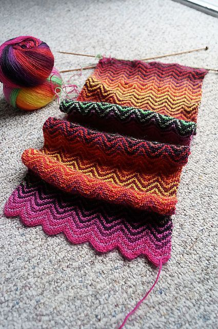 Photo of anleirer birthday scarf