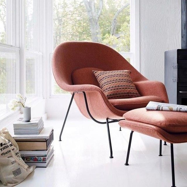 Womb Chair, Eero Saarinen, Comment, Front Rooms, Armchairs, Ottomans, A  More, Ps, Furniture