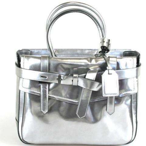 Reed Krakoff Boxer Silver Handbag 845