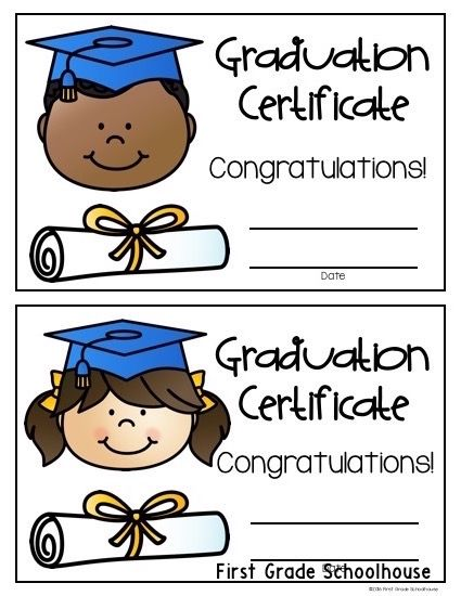 end of the year certificates | pre-k - k: ideas & resources | pinterest