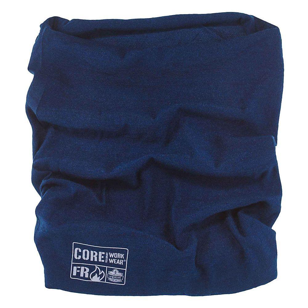 Ergodyne Chill Its 6700 Evaporative Cooling Tie Bandana Navy Blue Item 9956065 With Images Navy Sweatband Multi