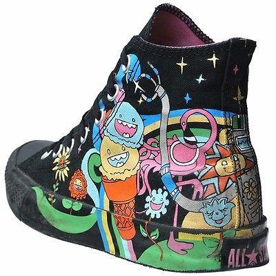 Converse All Star Chucks Schuhe Eu 37 5 5 Comic Limited Edition Vintage Einhorn Diy Shoes Converse All Star Shoe Art