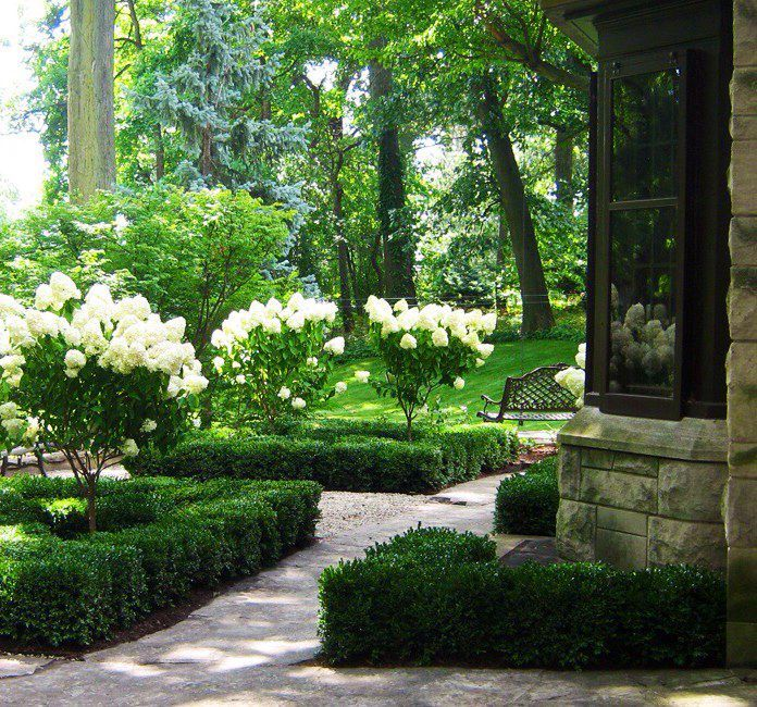 Formal Front Garden: Pin By Kathryn Springfield On Into The Garden