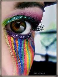 Afbeeldingsresultaat voor crazy make up