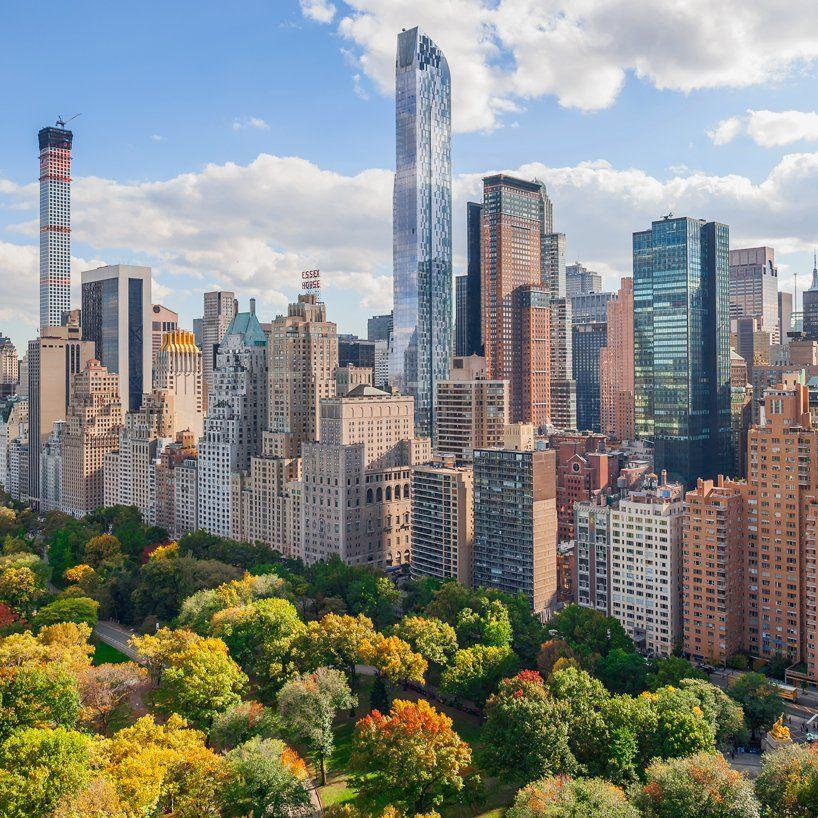 Central Park Apartments New York: New York Skyline, Skyline