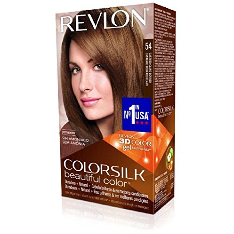 Revlon Colorsilk Hair Color 54 Light Golden Brown 1 Each Pack Of