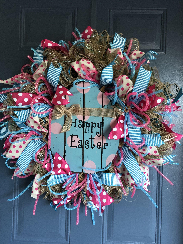 Best Easter Wreath, Easter Wreath For Front Door, Easter Egg,