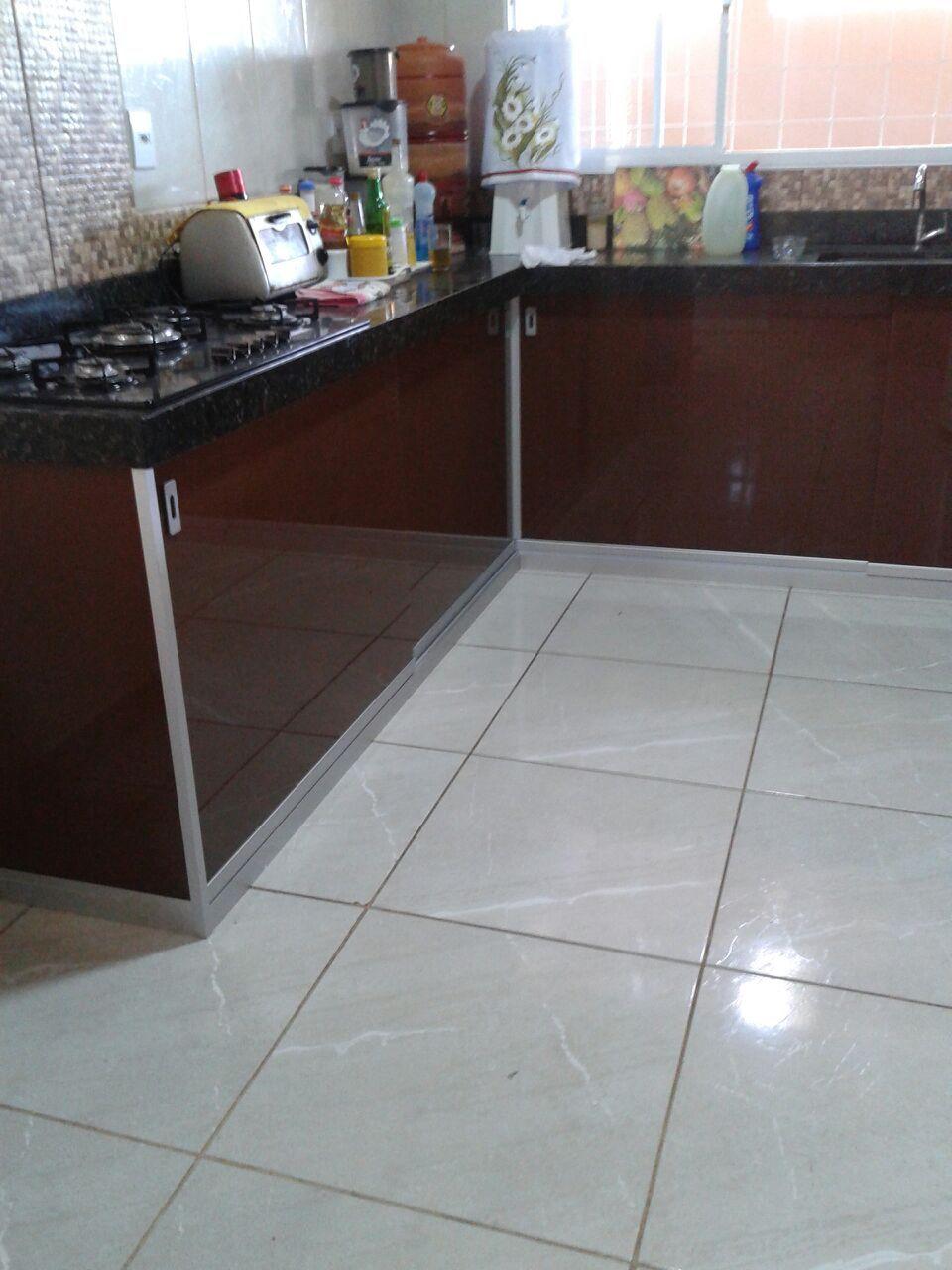 Kit Pia Alclean Em Instalacao De Fechamento De Pia De Cozinha Com
