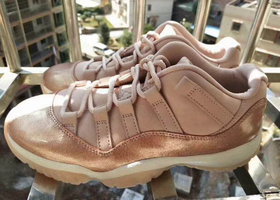 62d4d70d33e9 A First Look At The Air Jordan 11 Low Rose Gold