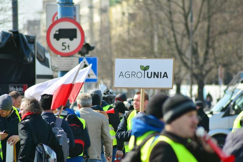 Farmers Of The Agrounia Union Organised Demonstration At The Artur Zawisza Squar Ad Organised Demonstration Artur Far Image Photography Union Warsaw