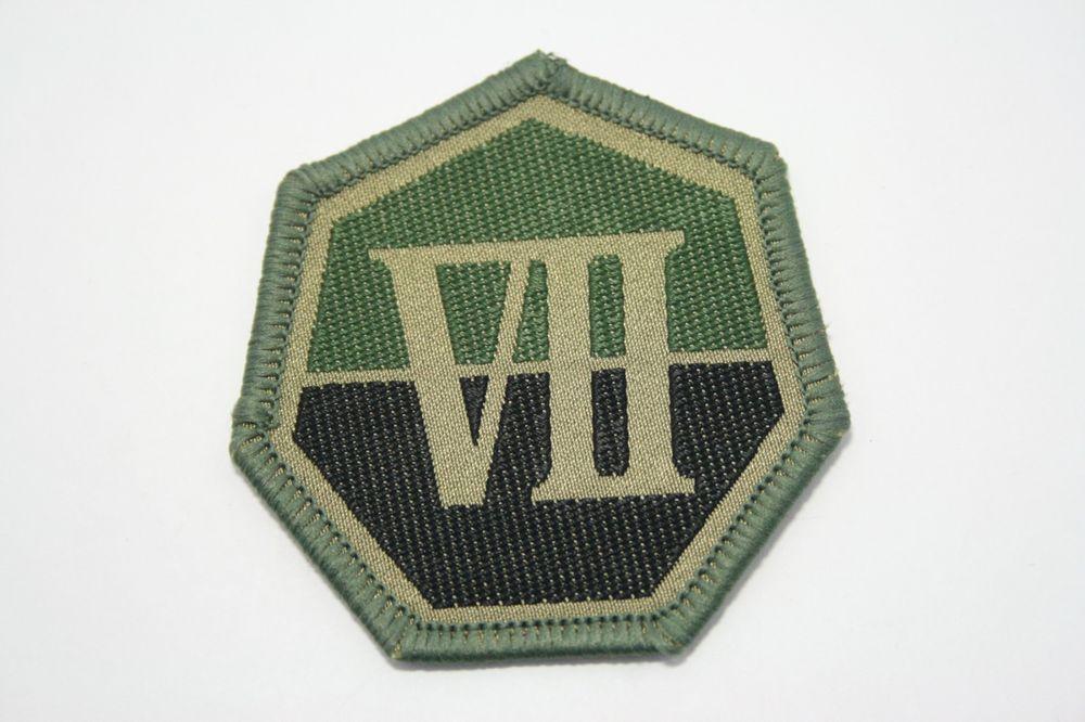 ROK Republic of Korea Army 32nd HRD COMBAT patch