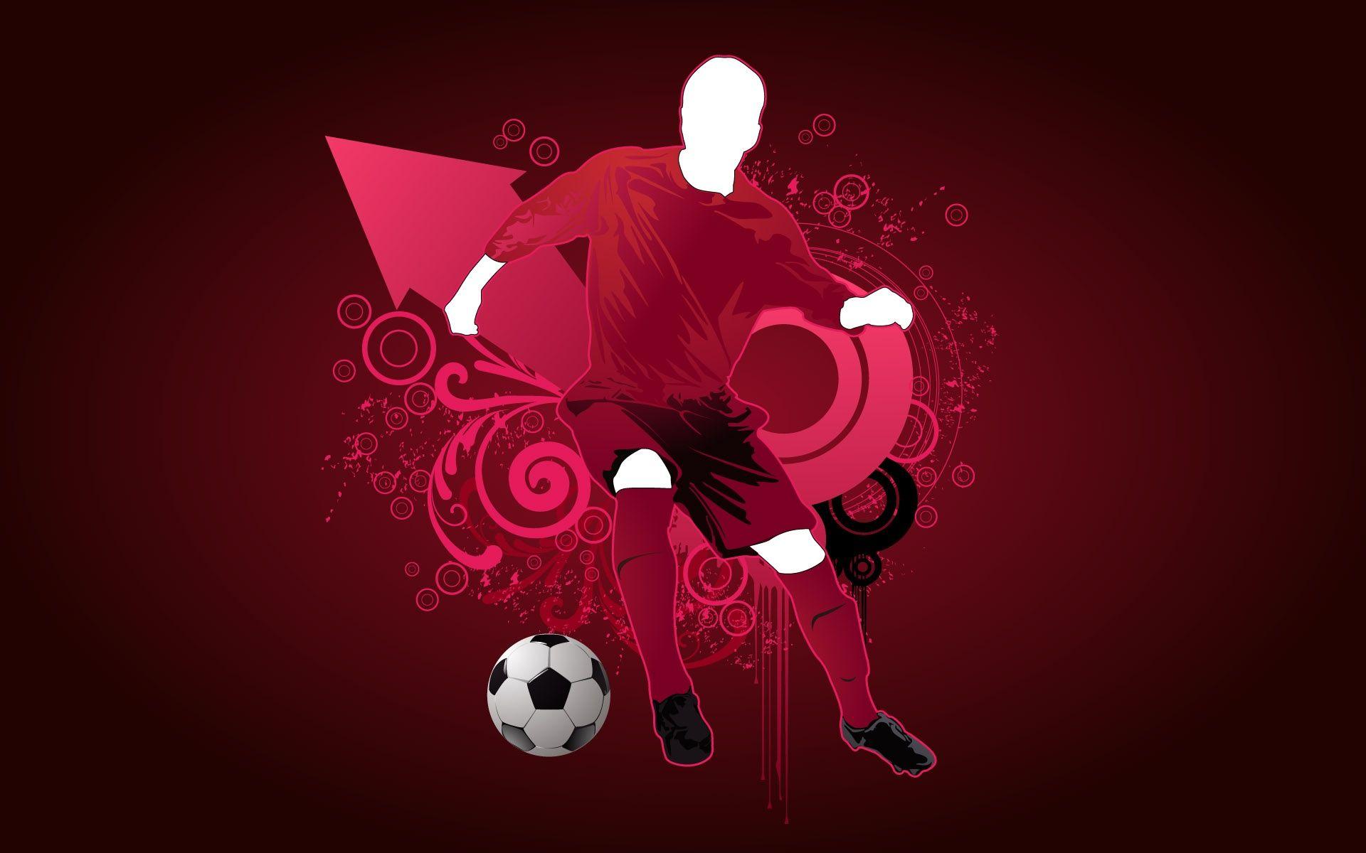 Soccer Ball Hd Wallpaper Artistic Wallpaper Vector Art Art
