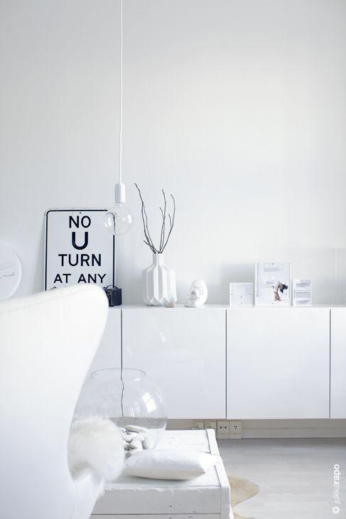 IKEA Besta hacks Flats, Interiors and Helsinki - farbe für küchenrückwand