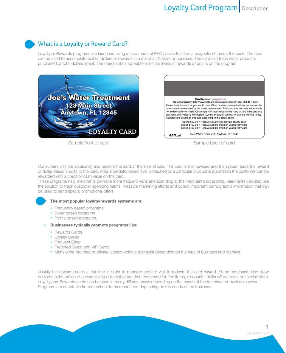 Loyalty Card Program Description Pdf Free Download Pertaining To Frequent Diner Card Template Best Template Ideas