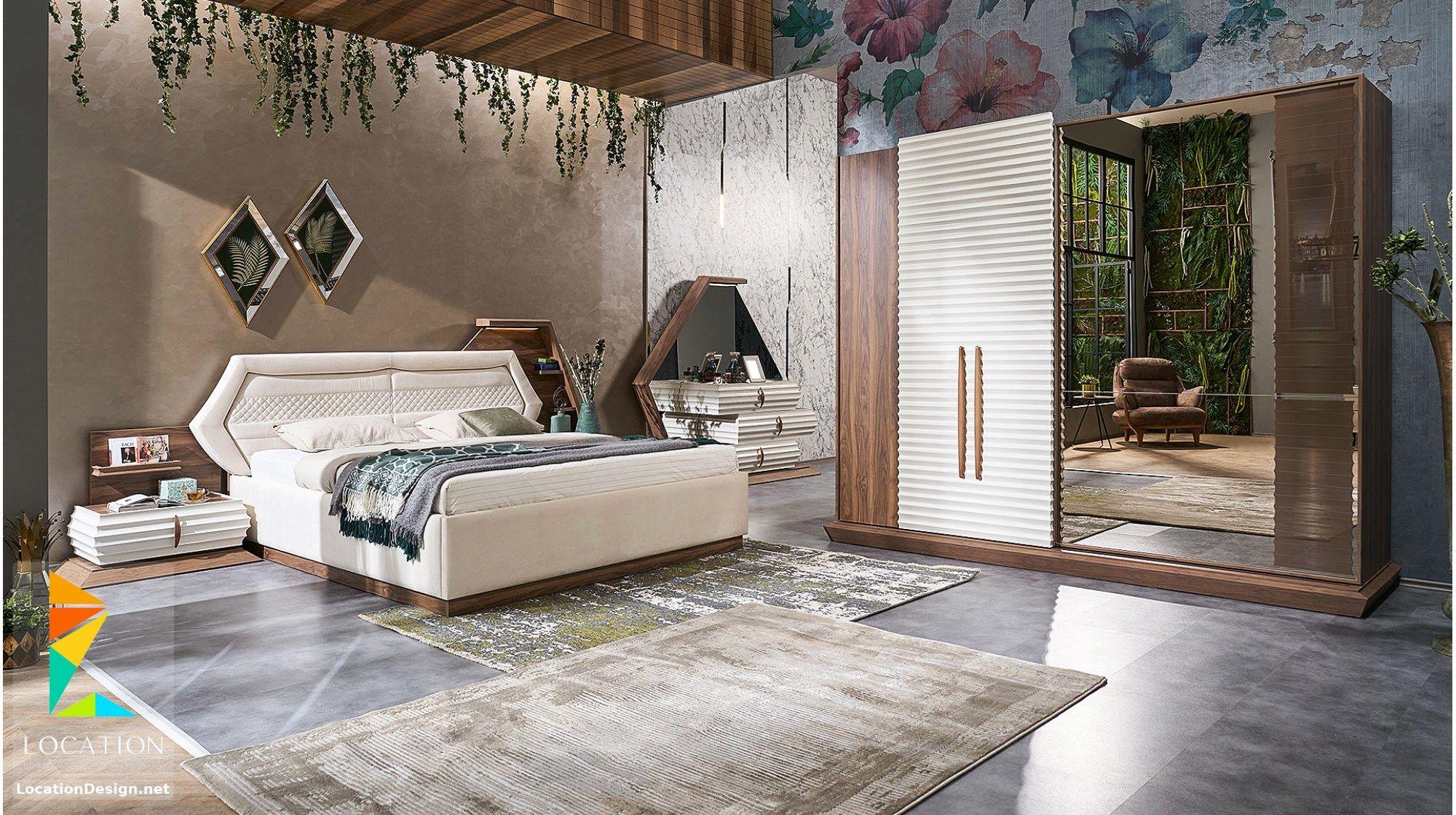 افخم غرف نوم مودرن 2019 2020 Modern Bedroom Set Bedroom Furniture Design Bed Furniture Design
