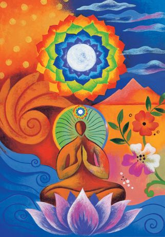 a yoga sequence for your crown chakra  chakra meditation