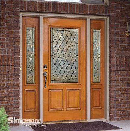 Queen Anne 4608 Door With 4609 Sidelights Exceptional Entryways
