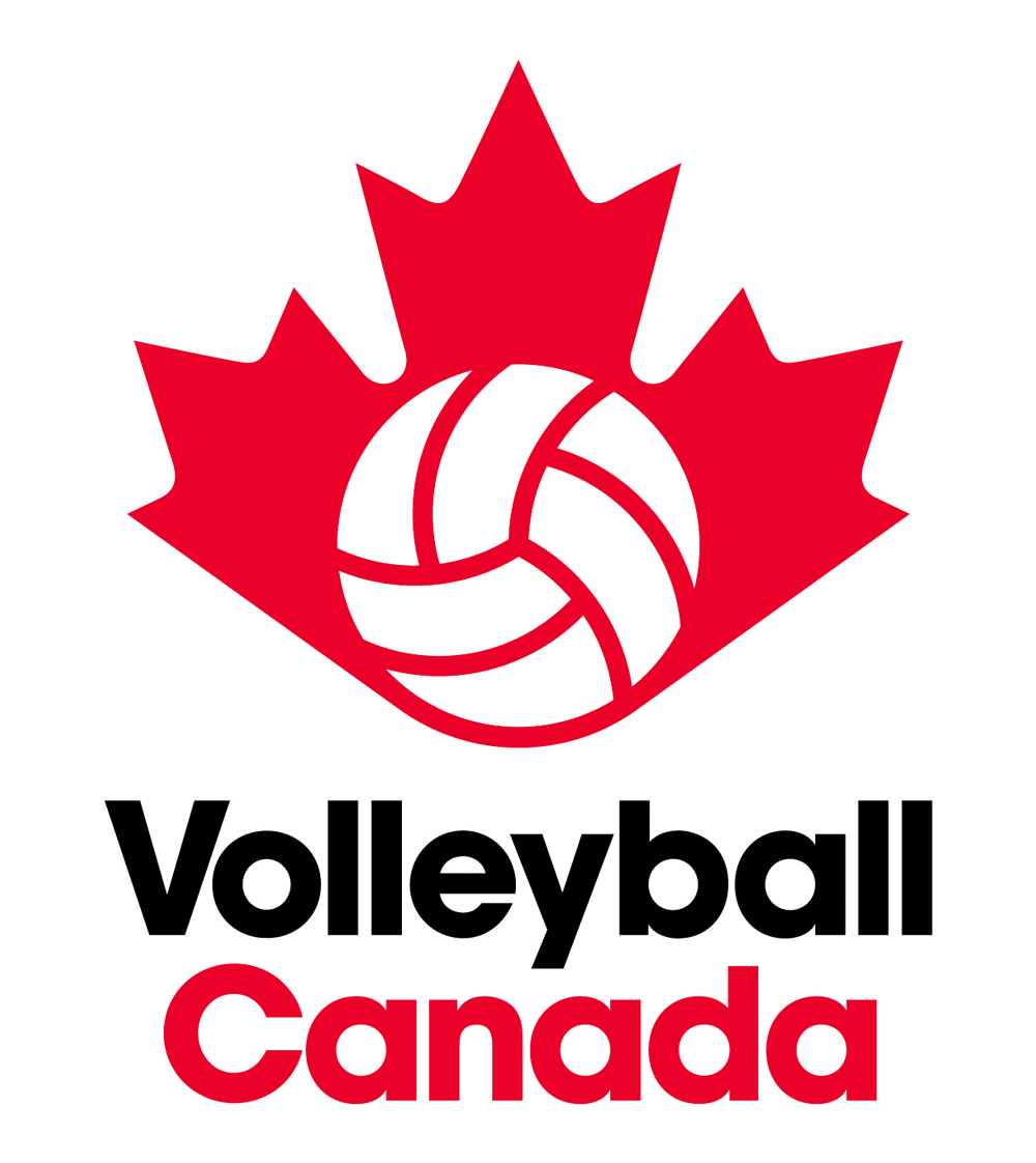 New Logo And Identity For Volleyball Canada By Hulse Durrell Logo Inspiration Branding Identity Logo Graphic Design Branding