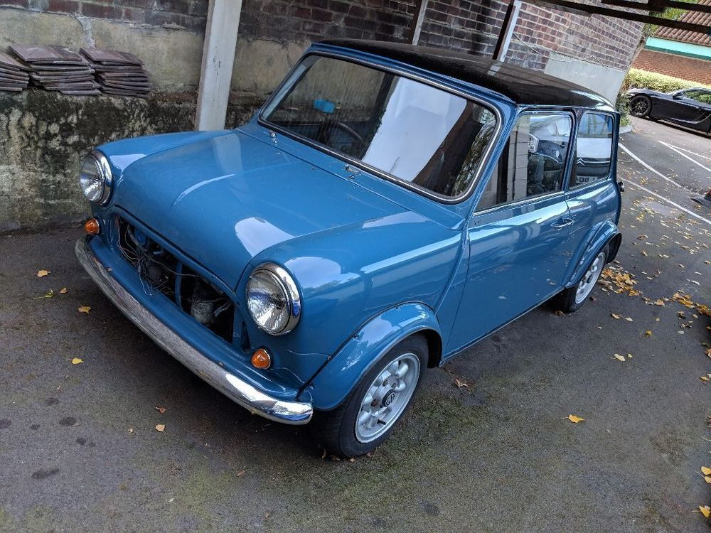 Classic mini 1275 unfinished project Classic mini, Mini