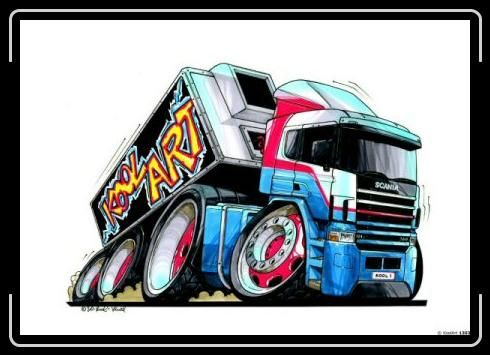 Lowrider Clip Art | Koolart Scania Truck | Projects to Try ...