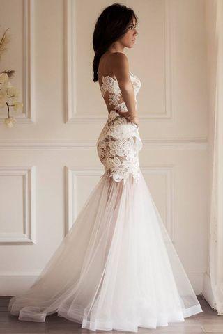 Slutty Wedding Dress.Yasmine Yeya Couture Wedding Dresses Dream Wedding