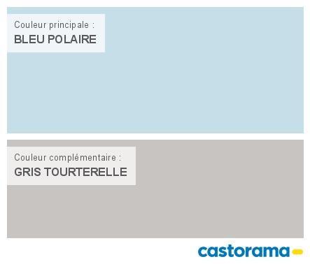 Castorama Nuancier Peinture   Mon Harmonie Peinture BLEU POLAIRE Satin De  TOLLENS Prestige Premium