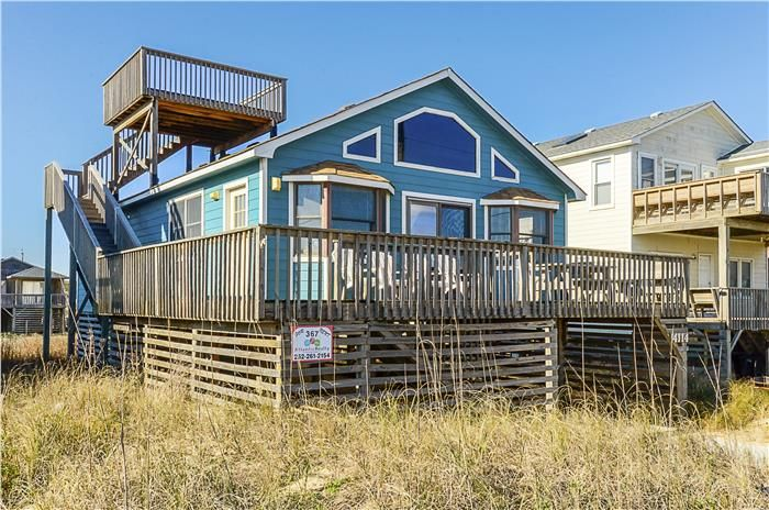 367 Escape To Paradise Atlantic Realty Nc Obx Rentals House Styles Vacation