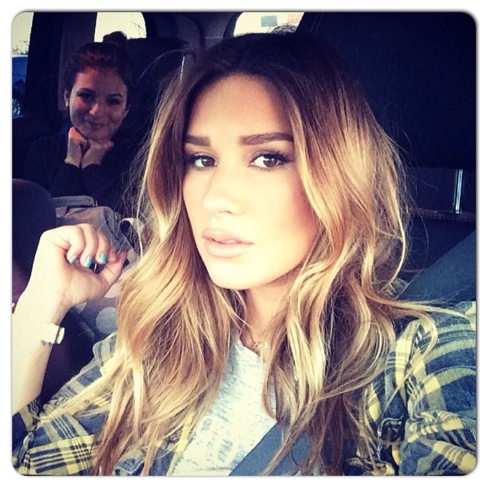 Jessie james decker medium length ombré projects to try
