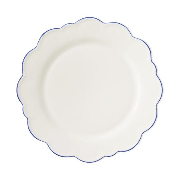 Scalloped dinner plates Aerin for Williams Sonoma  sc 1 st  Pinterest & Shop Aerin Lauder\u0027s elegant and lovely new home collection that\u0027s ...