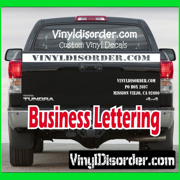Custom Business Vinyl Decals Vinyls Cars And Vinyl Decals - Custom vinyl decals for business