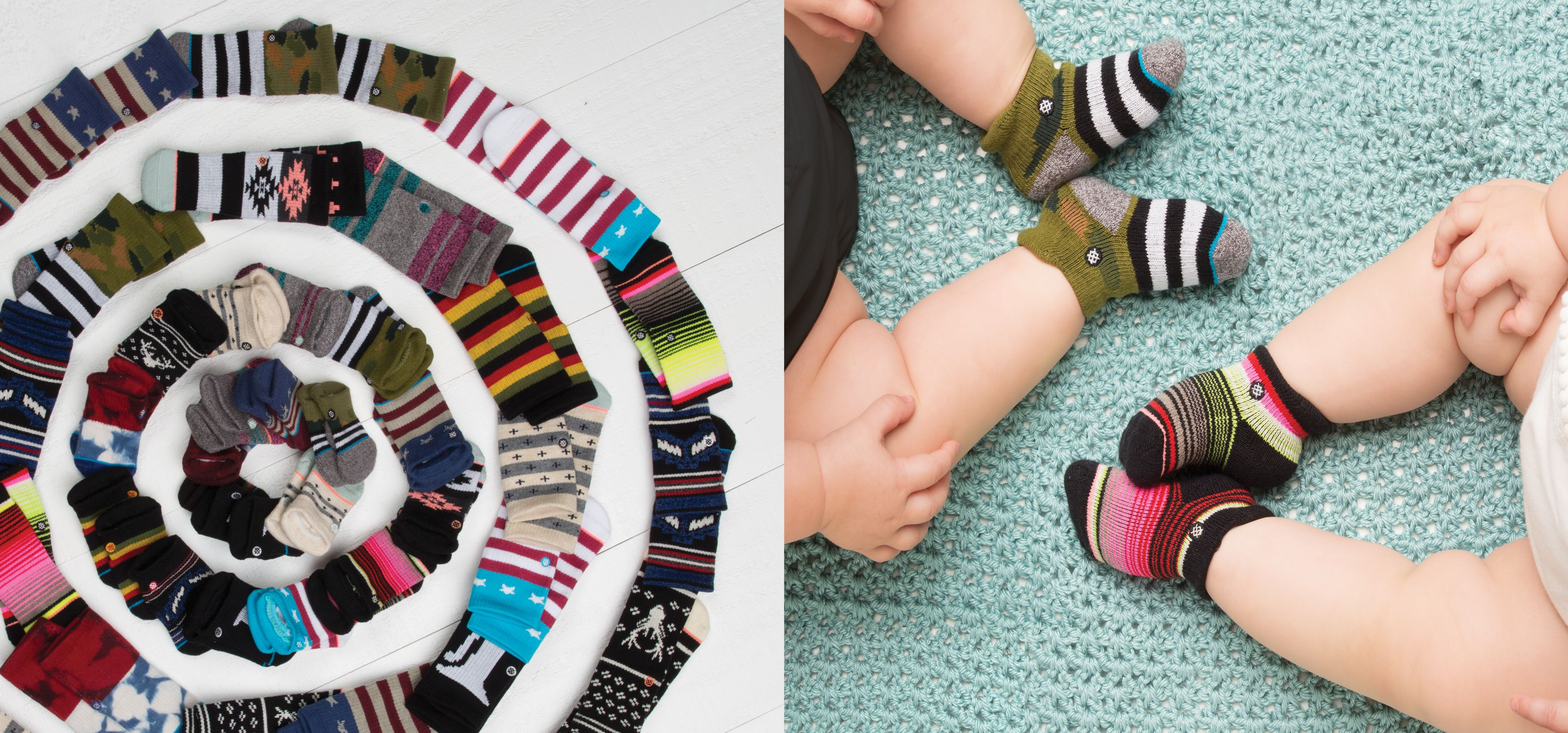 Stance baby party Stance has released it s exclusive baby socks for