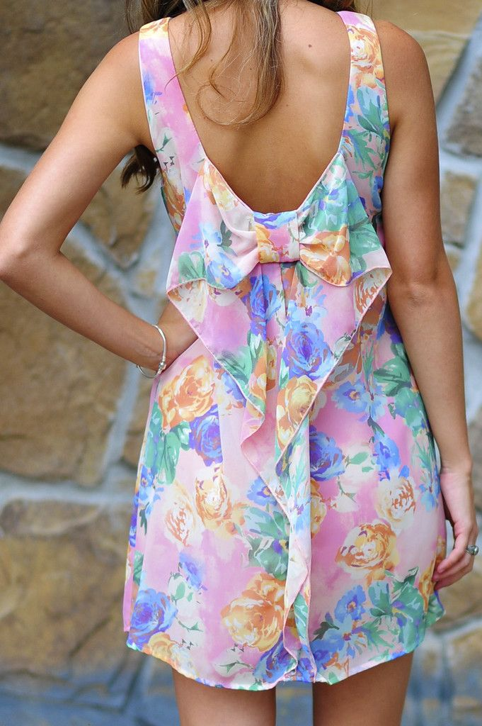 Floral Me Happy Dress: Multi  Real cute and super affordable.