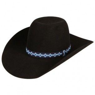 7d9a0f6dd40 American Hat Company Black 10X Felt Cowboy Hats