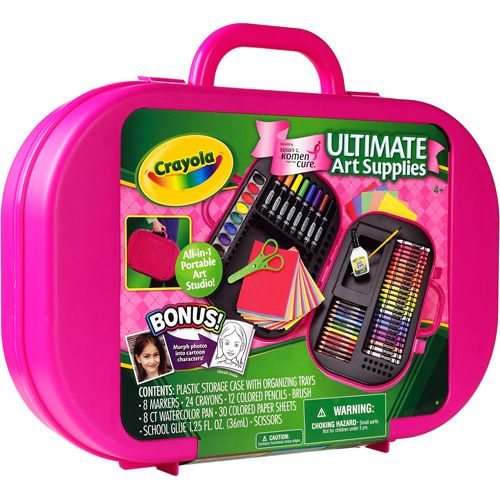 Ultimate Art Studio crayola ultimate art kit $9.98 | art and craft projects for kids