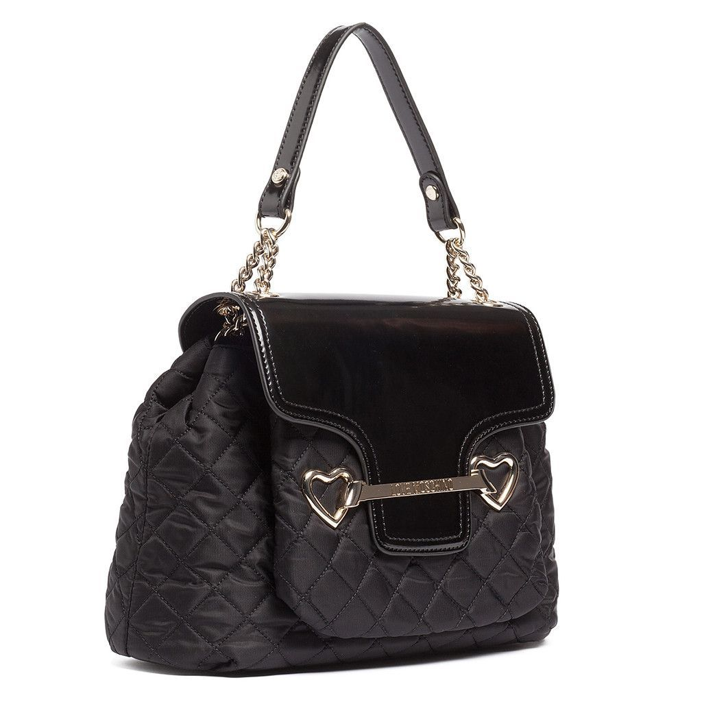 Moschino Black Shoulder Bag