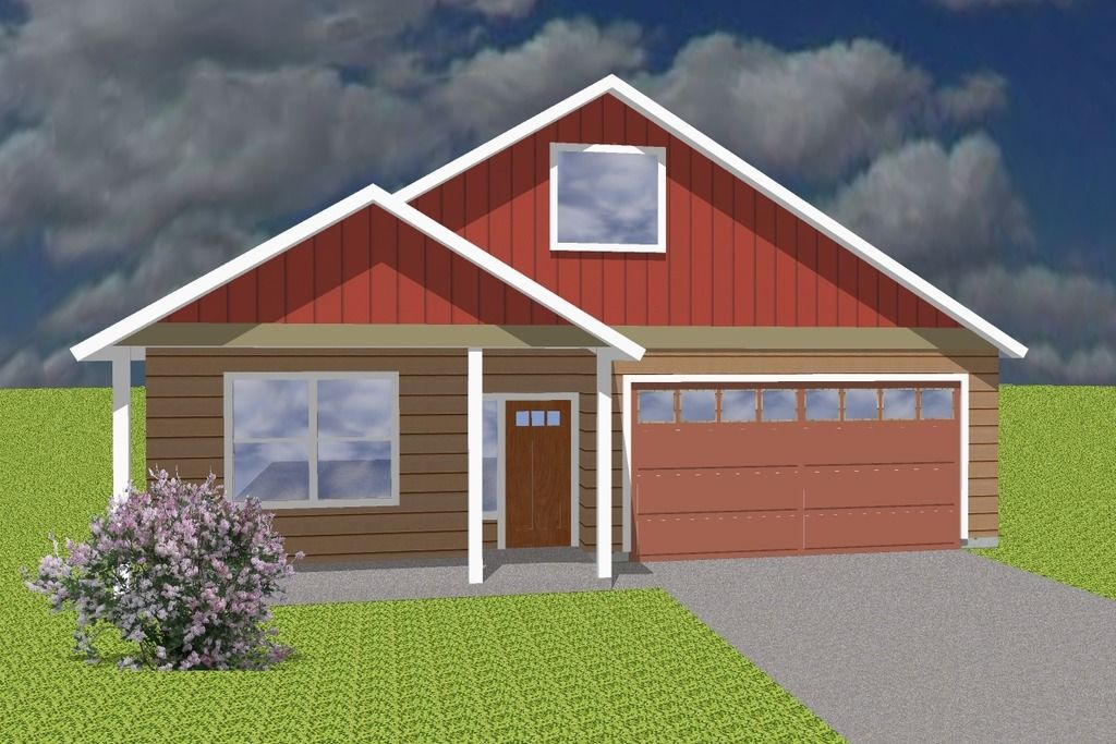 Ranch Style House Plan 4 Beds 2 Baths 1500 Sq/Ft Plan