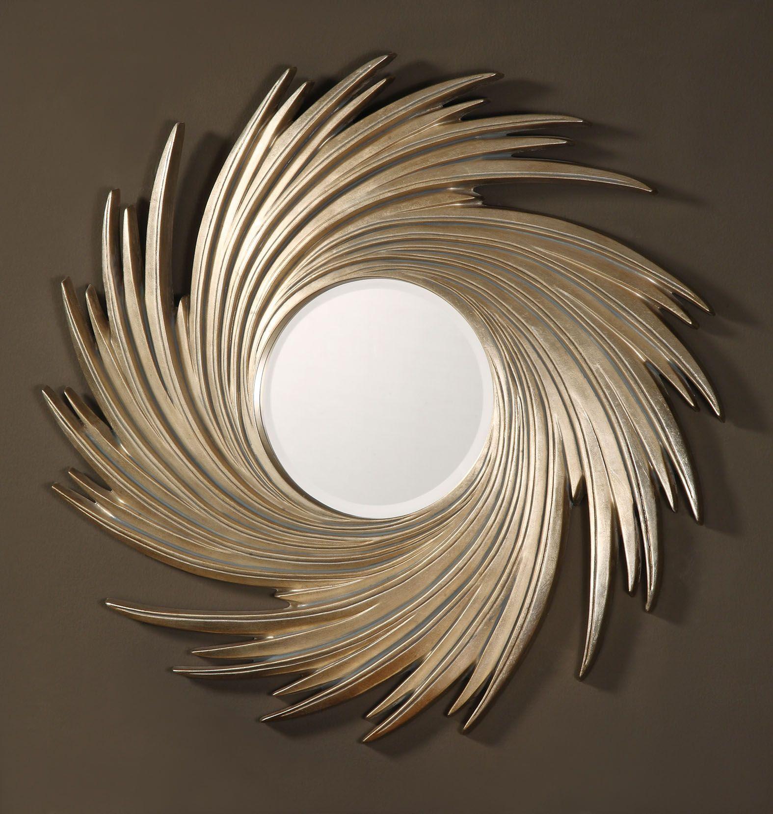 декоративное зеркало в оригинальной раме в 2019 г