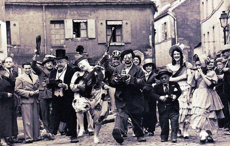 Circus, Paris. Montmartre, 1936