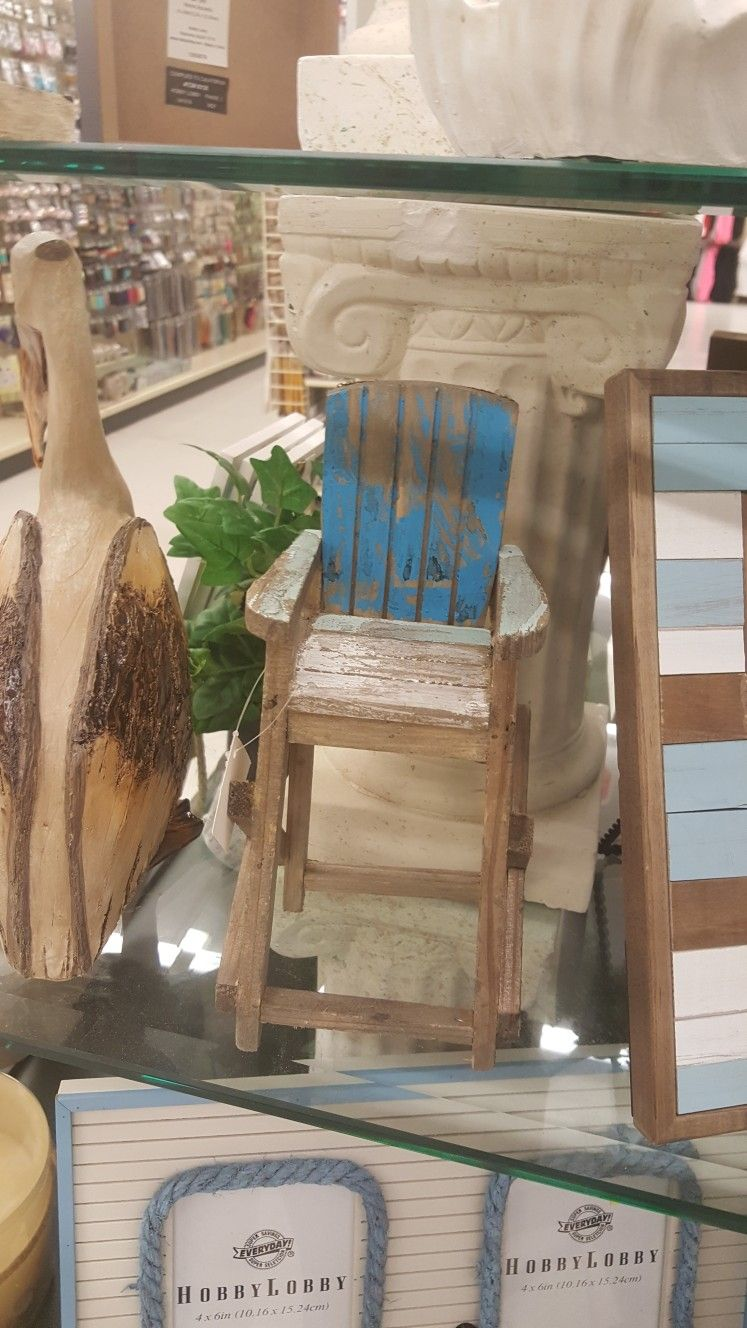 Adirondack Chair Decor At Hobby Lobby With Images Chair