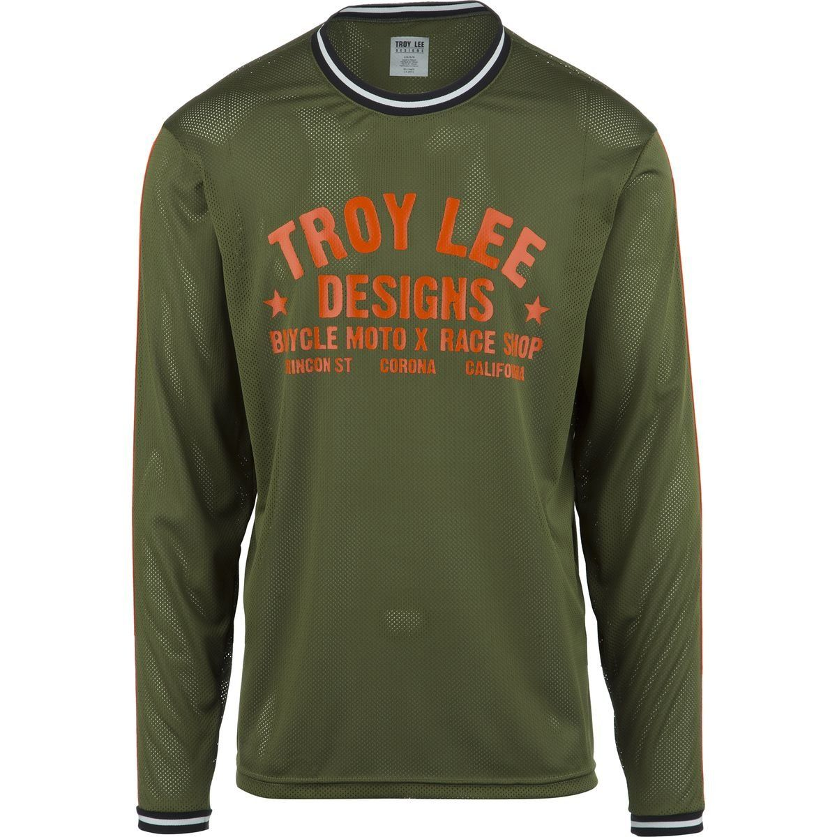 a3db38ae4 Troy Lee Designs Super Retro Men s BMX Bike Jersey - Army Green   Small