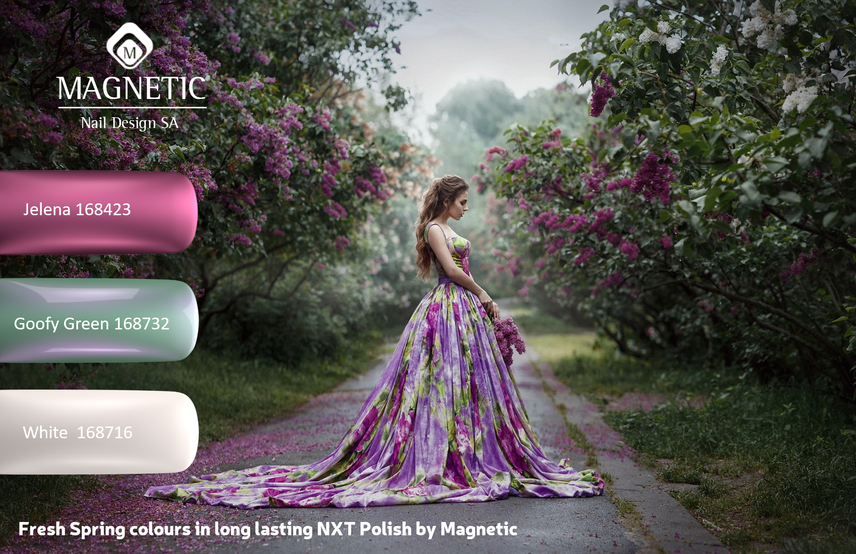 As always, our Spring Colours in our NXT Long Lasting Polish are stunning. Your clients will love them. Save on our Spring Collection this World day. See http://magneticna.co.za/nail-training-and-product-specials/ for more