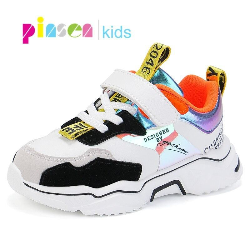 PINSEN 2020 Spring New Shoes Girls
