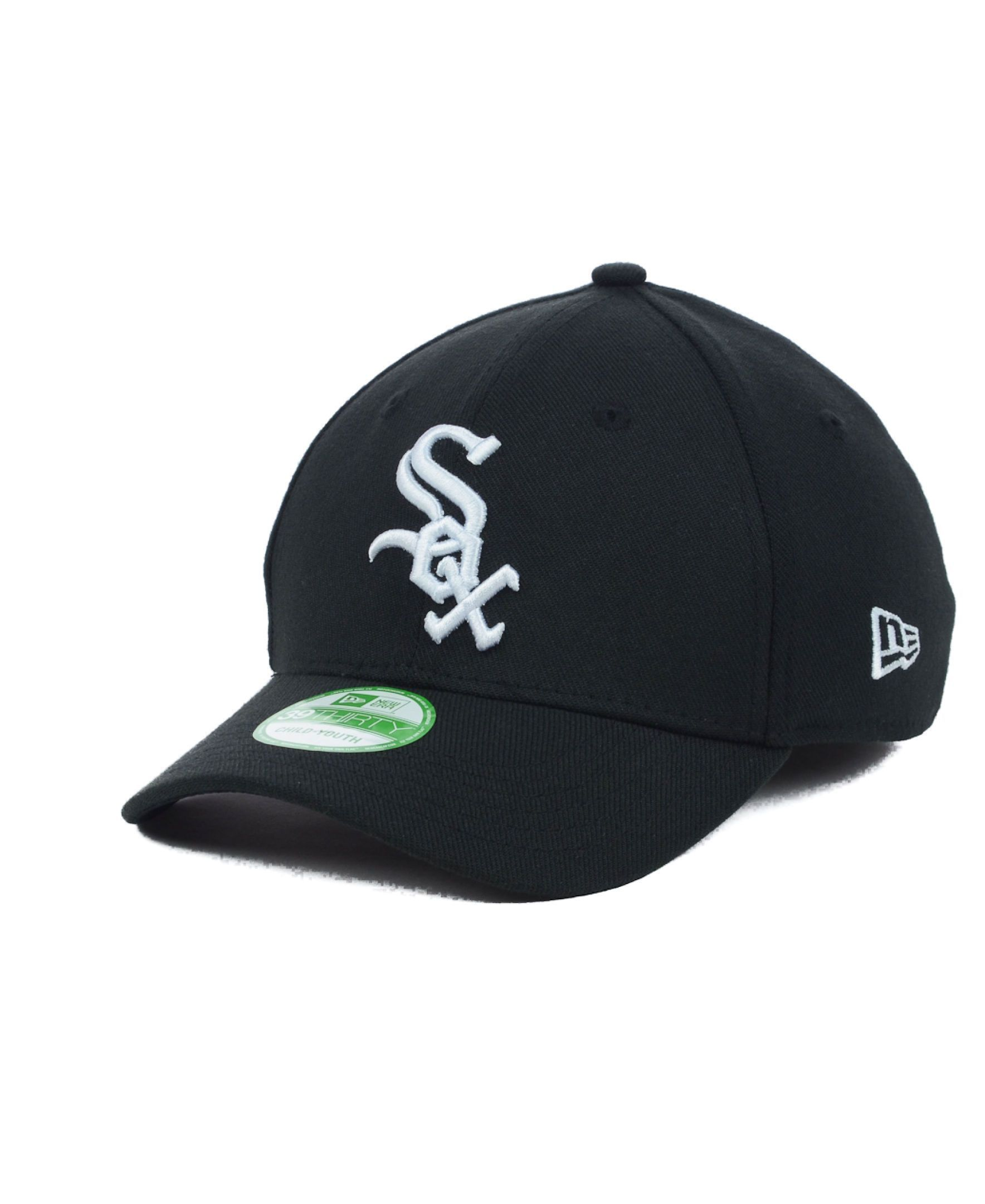 New Era Chicago White Sox Team Classic 39THIRTY Kids  Cap or Toddlers  Cap dc2098d51459