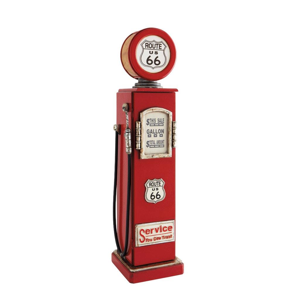 Lámpara portacedés roja Alt. 95 cm ROUTE 66 | bryson in 2019