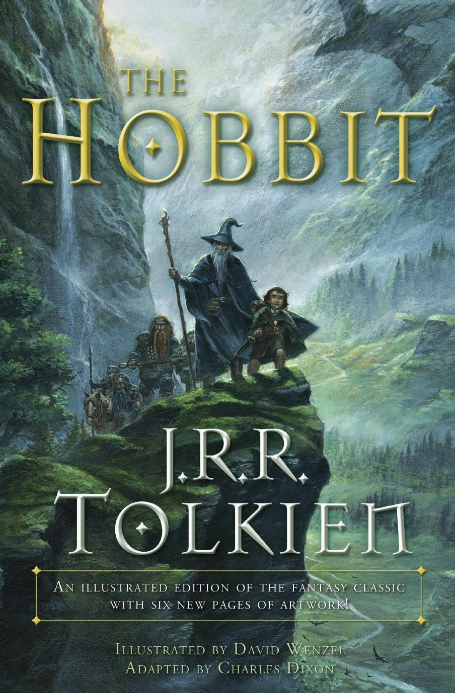 The Hobbit Graphic Novel By J R R Tolkien Free Fully
