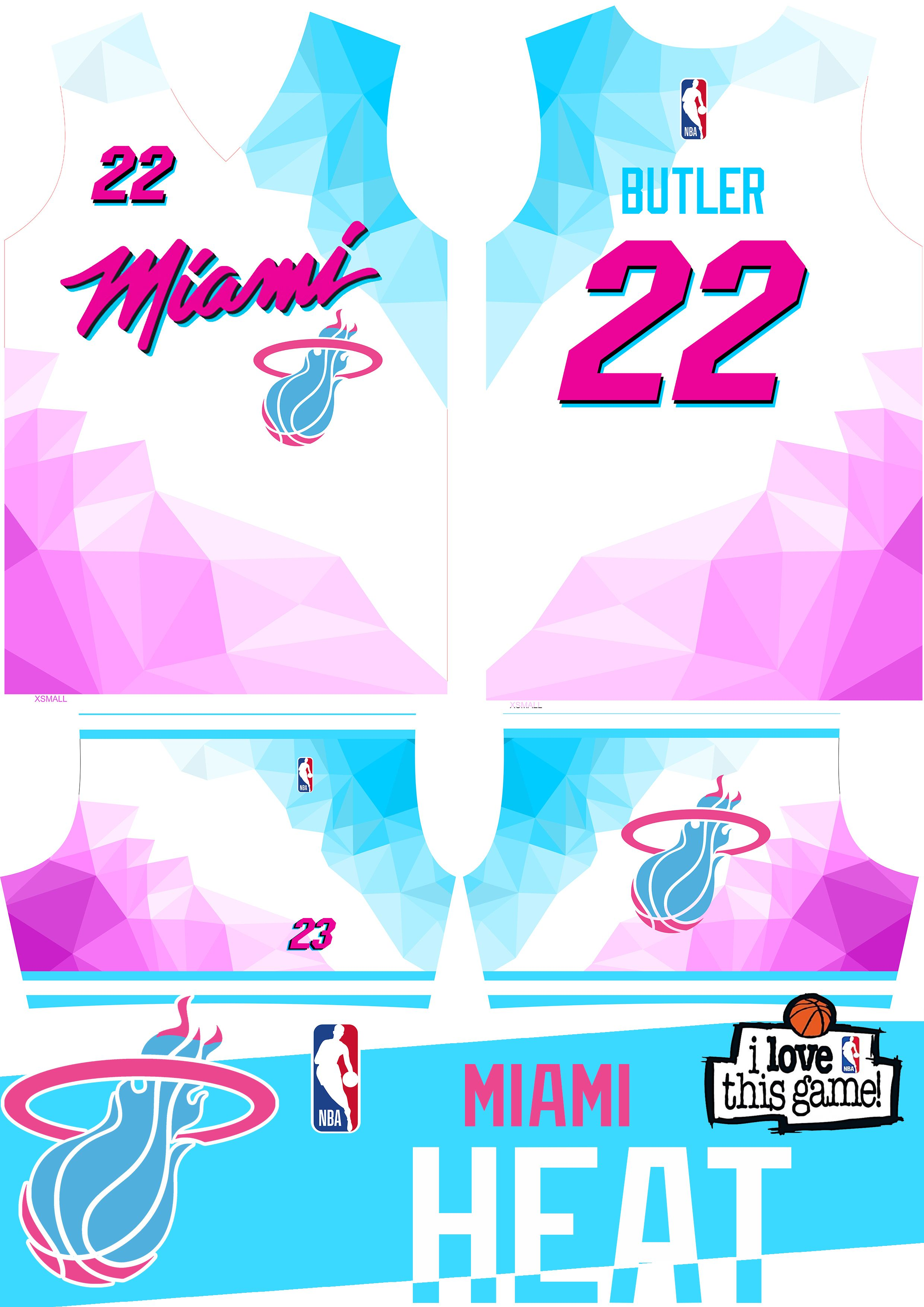 Jimmy Butler 22 Miami Heat Vice Wave On Behance In 2020 Miami Heat Lebron James Miami Heat Nba Miami Heat