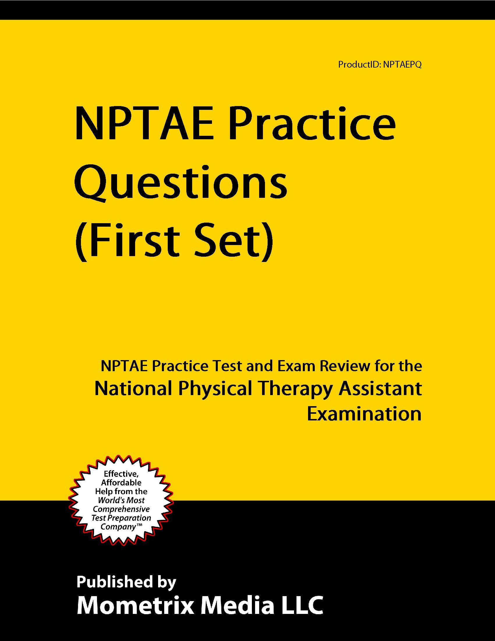 Nptae Practice Questions First Set Nptae Practice Test And Exam Review For The National